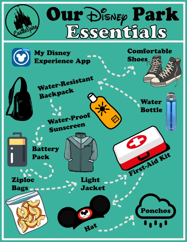Our Disney Park Essentials